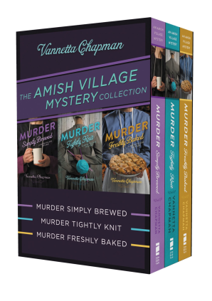The Amish Village Mystery Collection eBook DGO by Vannetta Chapman